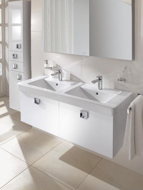 Double Designer Slab basin