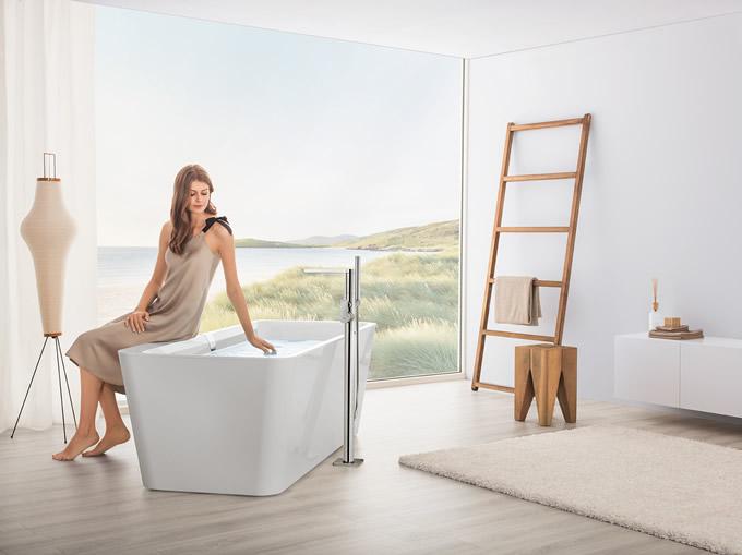 Villeroy & Boch's Beautiful Squaro Edge 12 Bath