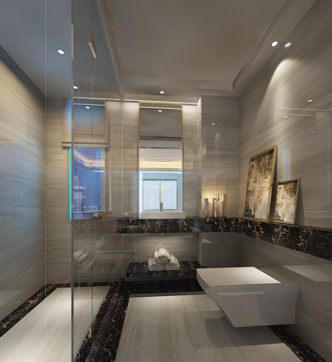 Marble Porcelain Bathroom Pic