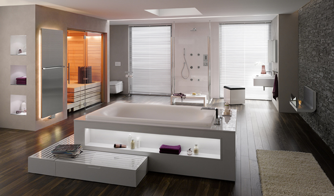 Toto Room Set with HSK Shower Glass Doors