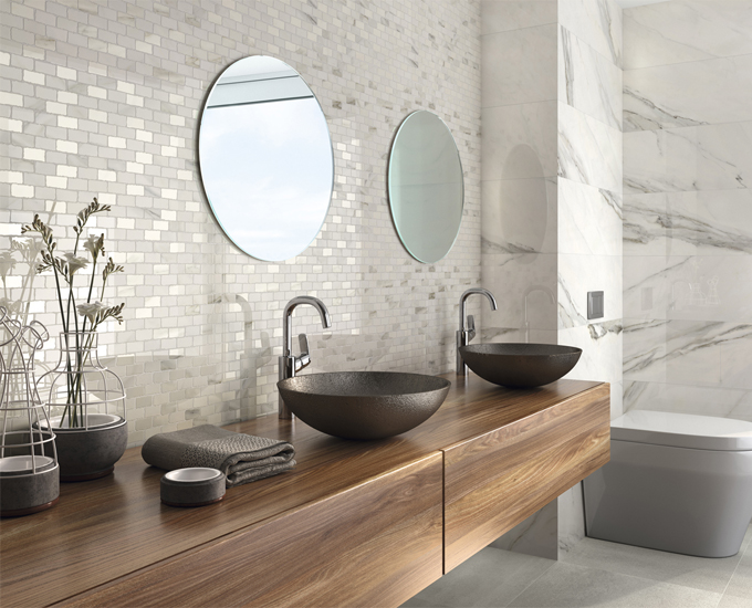 Luxury ceramic vanity bowl