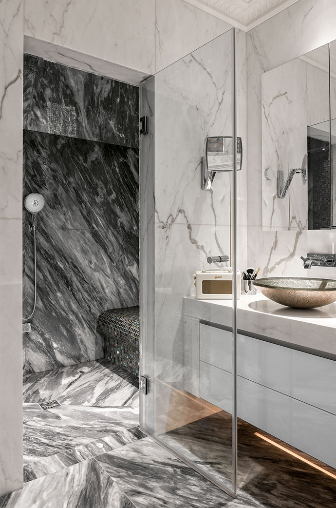 bathroom project for a luxury development
