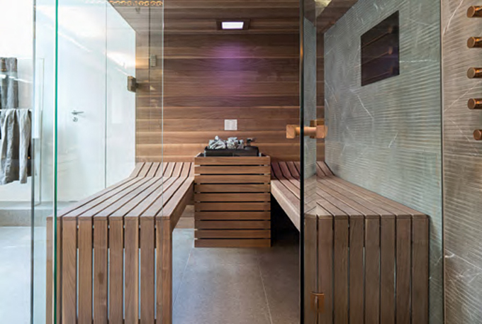 Luxury Steam Rooms Concept Design