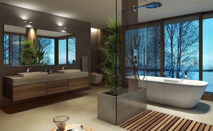 ZERO DIMENSION Bathing With The TOTO Floatation Bath