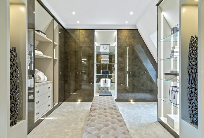 Statement Bathrooms & Luxury Dressing Room Wardrobes