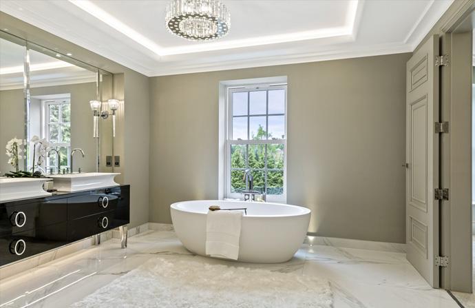 Luxury Bathroom Design Concept Design