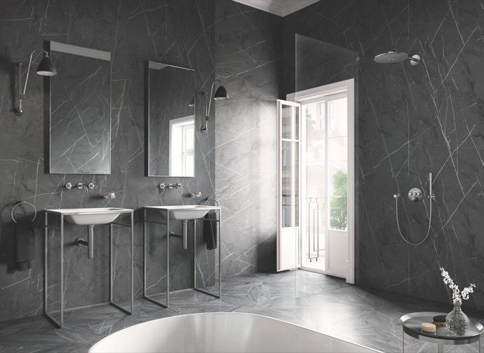 Grohe's Latest Shower And Tap Range