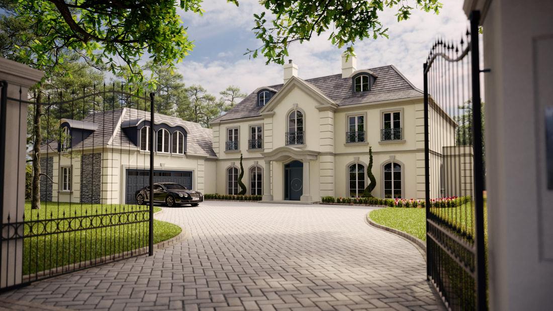 luxurious developments surrey