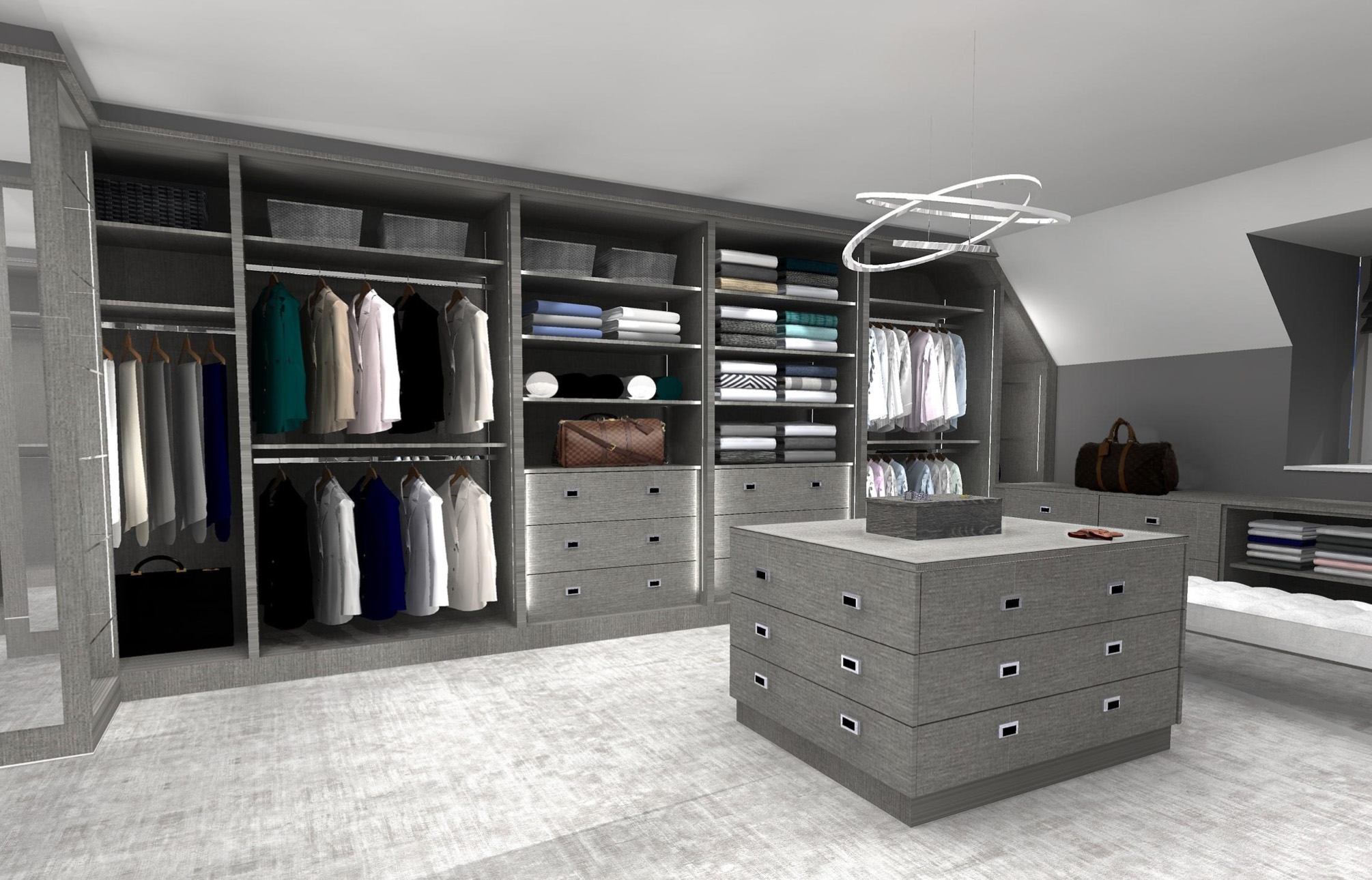 Luxury Dressing Room Design
